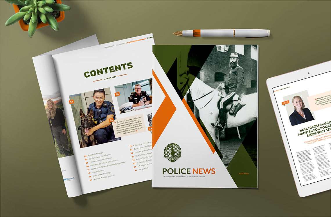 Police News Magazine Preview